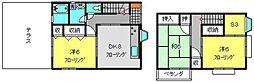 [一戸建] 神奈川県横浜市港南区上永谷2丁目 の賃貸【神奈川県 / 横浜市港南区】の間取り