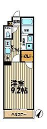 神奈川県横浜市戸塚区深谷町の賃貸マンションの間取り