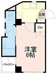 稲城蔵ビル[2階]の間取り