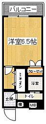エステート・モア平尾ヒルズ[307号室]の間取り