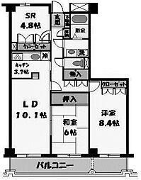 セントラルハイムKATO[5階]の間取り