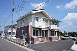 栃木県宇都宮市下岡本町の賃貸アパートの外観