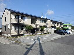 滋賀県高島市新旭町饗庭の賃貸アパートの外観
