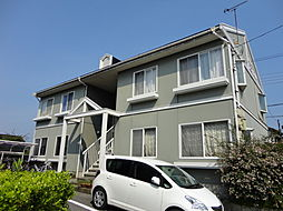 滋賀県彦根市中藪2丁目の賃貸アパートの外観