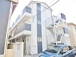 神奈川県大和市南林間3丁目の賃貸アパートの外観