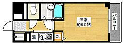 ピュアドーム天神アクロス[5階]の間取り