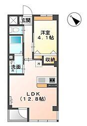 KMG[1階]の間取り