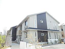 滋賀県栗東市小柿3丁目の賃貸アパートの外観