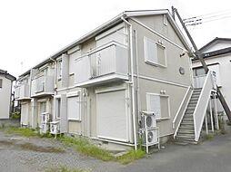 神奈川県大和市南林間5丁目の賃貸アパートの外観
