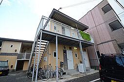 大阪府堺市堺区西永山園の賃貸アパートの外観