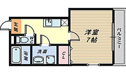 TKアンバーコート堺東[6階]の間取り