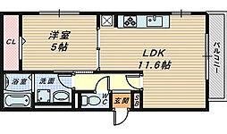 セレナーデ B棟[2階]の間取り