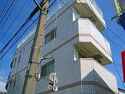 神奈川県川崎市中原区下沼部の賃貸マンションの外観