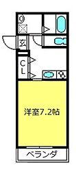 MAISON MIYAZAKI[2階]の間取り