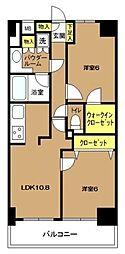 日神パレステージ東新宿イーストフォート[7階]の間取り