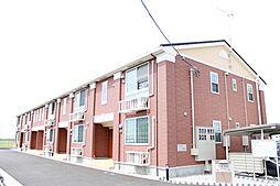 新潟県新発田市舟入の賃貸アパートの外観