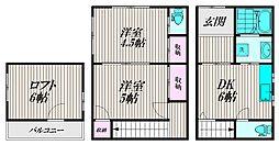 [一戸建] 東京都品川区南品川4丁目 の賃貸【/】の間取り