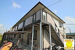 千葉県市川市宮久保3丁目の賃貸アパートの外観