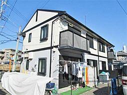 神奈川県相模原市中央区上溝3丁目の賃貸アパートの外観