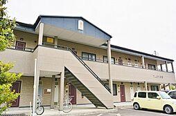 長野県松本市大字惣社の賃貸アパートの外観