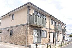 愛知県岡崎市岡町字東野々宮の賃貸アパートの外観