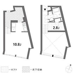 tuft(タフト)[3階]の間取り