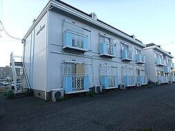 茨城県古河市古河の賃貸アパートの外観