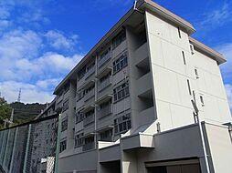 鶴甲コーポ10号館[5階]の外観