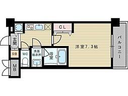 レオングラン新大阪レジデンス[12階]の間取り