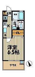 シオン北鎌倉[103号室]の間取り