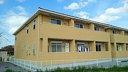 栃木県栃木市川原田町の賃貸アパートの外観