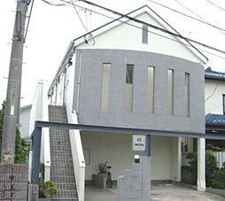 埼玉県越谷市蒲生西町2丁目の賃貸アパートの外観