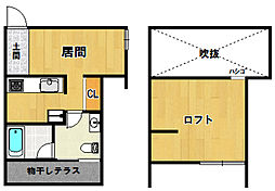 ORTUS AKAMATSU[105号室]の間取り