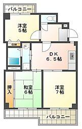 CONFOR HACHIOUJI[2階]の間取り