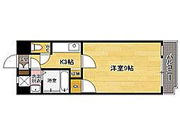 ラティーナ松香台[3階]の間取り