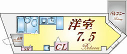 ミスティ∞[4階]の間取り