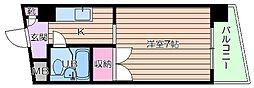 豊崎ハイツ[4階]の間取り