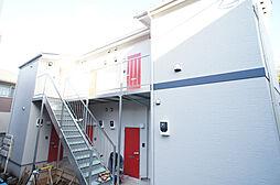 神奈川県川崎市多摩区西生田4丁目の賃貸アパートの外観