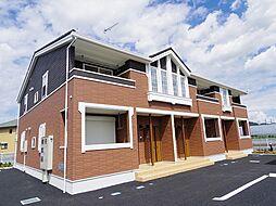 茨城県猿島郡境町の賃貸アパートの外観