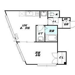 ドミンゴ南3条[401号室]の間取り