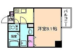 プランドール福島レジデンス[5階]の間取り
