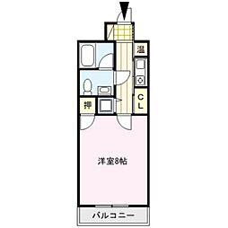 ローズガーデンI[2階]の間取り