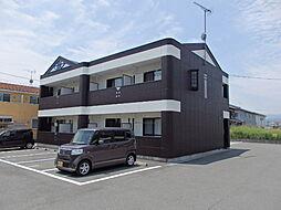 滋賀県高島市安曇川町中央2丁目の賃貸マンションの外観