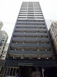 プレサンスタワー北浜[5階]の外観