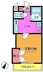 千葉県船橋市印内2丁目の賃貸マンションの間取り