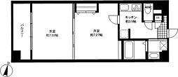 WISTERIA KOMAZAWA[2階]の間取り
