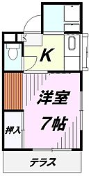 小林荘[1階]の間取り