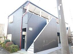 神奈川県厚木市三田の賃貸アパートの外観