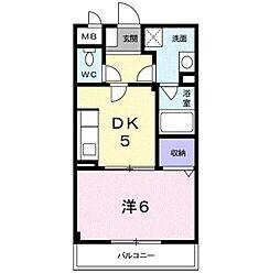 近鉄南大阪線 河内松原駅 バス16分 真福寺下車 徒歩1分の賃貸マンション 2階1DKの間取り