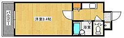 エルグランド室見[302号室]の間取り